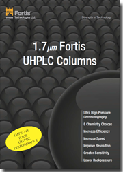 Fortis 1.7um UHPLC Product Guide