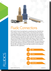 IDEX Fluidic Connections