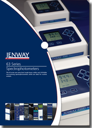 Jenway 63 Series Spectrophotometers