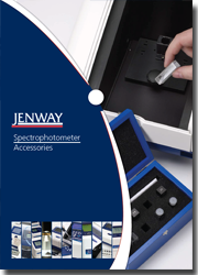 Jenway Spectrophotometer Accessory Brochure