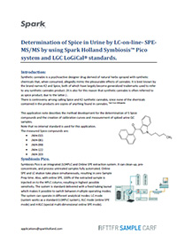 Determination of Spice in Urine