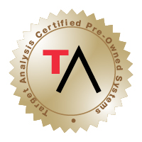 Target Analysis Certified Pre-Owned Systems Stamp