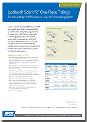 Upchurch Scientific One-Piece Fittings for UHPLC